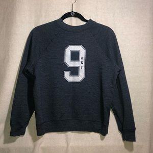 Abercrombie Kids Girl Navy Crew Neck Sweater M